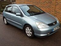 Honda Civic Type S with Low Miles and Mot only £900 ovno
