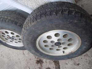Jeep 2 Tires & Rims 225/75R15