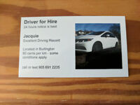 Occasional Driver for Hire
