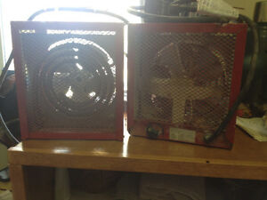 2 perfect condition construction heaters