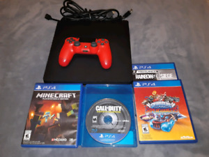 Ps4 bundle and ps4 games