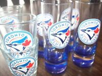 NEW /// LOT 8 TORONTO BLUE JAYS VERRES A SHOOTER GLASS MLB City of Montréal Greater Montréal Preview