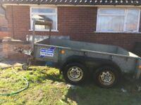 Ifor williams twin wheel 2 ton trailer