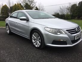 2010 (5 Seater) VW Passat CC 2.0TDI SE Excellent Condition Full Service History (Volkswagen)