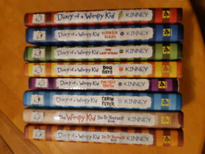 Diary of a Wimpy Kid..8 Books, $15!!!