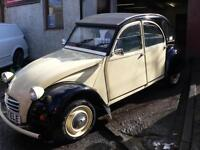 Citroen 2 CV CLASSIC CAR Low Mileage / Will Mot for 1 year
