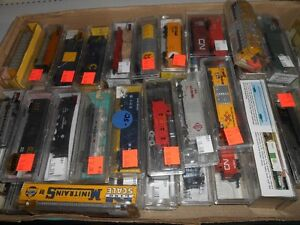 N-SCALE ROLLING STOCK ....BIG SELECTION