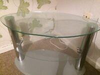 Glass tv Stand £10