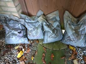 Plum slate chippings 40mm 4 bags