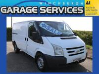 FORD TRANSIT 350 MWB LOW ROOF TWIN SLIDING GREAT CONDITION **NO VAT** WOOD LINED