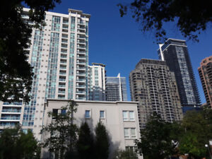 Sheppard/Yonge luxury furnished 1 b/r own w/r roomate wanted con