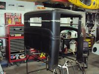 Vehicle restoration to full custom