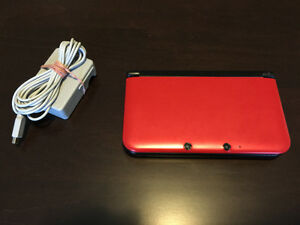 Nintendo 3DS XL (Latest Model)- Red & Black Handheld System