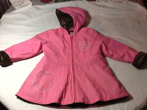 Size 3T Carter's  lined raincoat