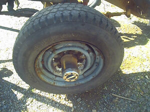 1993 1 Ton Dodge Dana 60 4x4 truck 8 bolt axle, Parting out