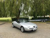 1998 Alfa Romeo Spider 2.0 T.Spark Lusso 2 Door Convertible Silver