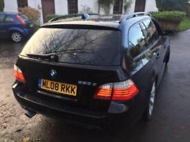 2008 BMW 5 SERIES 520D M SPORT TOURING ESTATE DIESEL