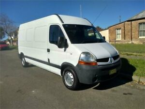 2008 Renault Master X70 MY07 Mid Roof LWB White 6 Speed Seq Manual Auto-Clutch Van Lidcombe Auburn Area Preview