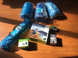 8 PIECE CAMPING GEAR SET New/Never used