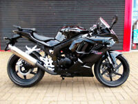 HYOSUNG GTR 125 SPORTS NEW 2 YEARS WARRANTY FINANCE