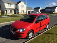 VW POLO 1.2 (56) 1 LADY OWNER , 1 YEAR MOT, WARRANTY £1595