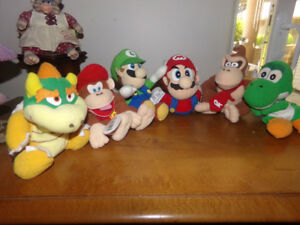 MARIO AND FRIENDS FOR SALE.......PLUSH