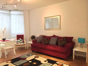 Furnished 1 Bedroom Condo Opp Square One