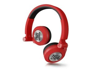 JBL Synchros E30 On-Ear Headphone, Red they are brand new