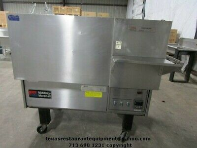 Middleby Marshall Natural Gas Conveyor Oven