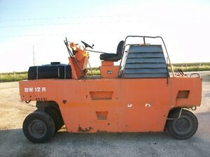 1990 BOMAG BW12R 9 WHEEL PNEUMATIC ROLLER