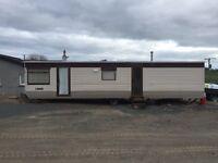 2 berth static caravan