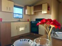 Modern 12ft Static Caravan For Sale on Family Run Park near Towyn in North Wales