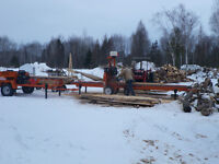 PORTABLE CUSTOM SAWMILLING