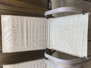 Patio chairs in fair condition