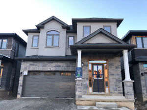 Beautiful Brand New 4 Bedroom Plus Office Detached Home for Rent