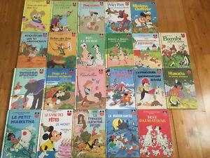 22 Livres vintage de Walt Disney