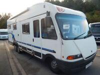 Euramobil Integra 6 berth rear garage rear fixed bed motorhome DEPOSIT TAKEN