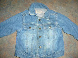 Baby Gap - lined jean jacket - size 12 months London Ontario image 1