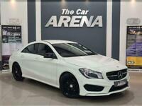 2014 Mercedes-Benz CLA CLASS 1.6 CLA180 AMG Sport 4dr Coupe Petrol Manual