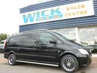 2013 Mercedes-Benz VITO 110 CDI X-LONG DUALINER Van *6 SEATER* Manual Crew Van