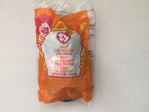 Ty Beanie Baby McDonalds Mini # 6 Iggy the Iguana
