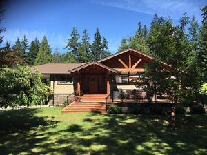 Private acreage 5 mins from Courtenay