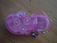 Toddler Girl size 6 sandles