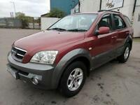 2005 KIA SORENTO 2.5CRDi XE / DIESEL / MANUAL / 4 X 4 / RED