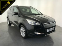 2016 65 FORD KUGA TITANIUM TDCI 5 DOOR HATCHBACK DIESEL 1 OWNER FINANCE PX