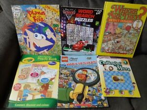Books - Puzzles and Activities - Level 2 (5)
