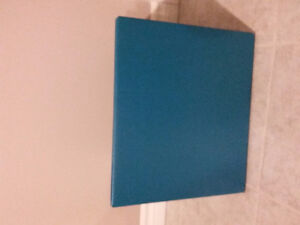 Set of 3 teal blue container storage bins Brand new London Ontario image 4