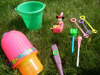 Multiple Outdoor Toys - Multiple Photos