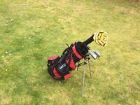 Children's first golf set.