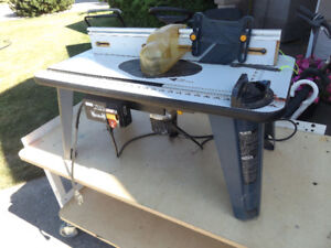 RYOBI Router Saw with stand